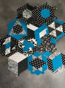 Er i gang med projekt hexagons ....har været det længe, men her er et lille kig
